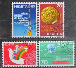 Poštovní známky Švýcarsko 1979 Výroèí a události Mi# 1161-64