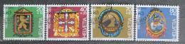 Poštovní známky Švýcarsko 1983 Hostinské erby Mi# 1251-54 - zvětšit obrázek