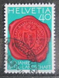 Poštovní známka Švýcarsko 1983 Peèe� Bazileje Mi# 1255