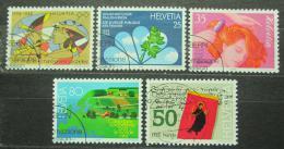 Poštovní známky Švýcarsko 1988 Výroèí a události Mi# 1364-68