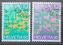 Poštovní známky Poštovní známky Švýcarsko 1988 Evropa CEPT Mi# 1370-71