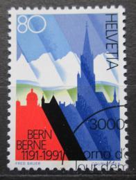 Poštovní známka Švýcarsko 1991 Bern Mi# 1443