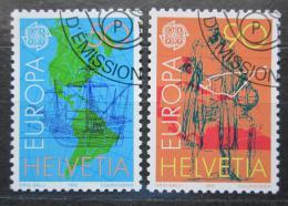 Poštovní známky Švýcarsko 1992 Evropa CEPT Mi# 1468-69
