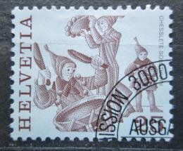 Poštovní známka Švýcarsko 1984 Lidové slavnosti, Solothurn Mi# 1280