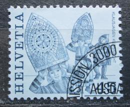 Poštovní známka Švýcarsko 1984 Lidové slavnosti, Rigi Mi# 1281