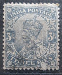 Poštovní známka Indie 1926 Král Jiøí V. Mi# 100