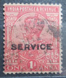 Poštovní známka Indie 1926 Král Jiøí V., služební Mi# 77