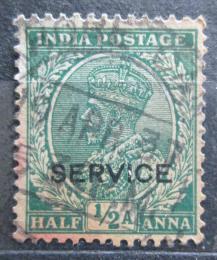 Poštovní známka Indie 1935 Král Jiøí V., služební Mi# 89