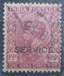 Poštovní známka Indie 1932 Král Jiøí V., služební Mi# 86