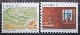 Poštovní známky Kanada 1983 Umìní Mi# 871-72