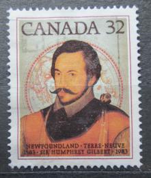 Poštovní známka Kanada 1983 Humphrey Gilbert Mi# 889