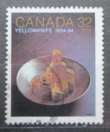 Poštovní známka Kanada 1984 Yellowknife Mi# 903