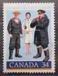Poštovní známka Kanada 1985 Námoøní pìchota Mi# 984