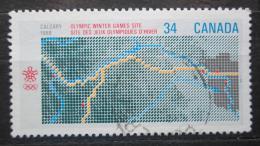 Poštovní známka Kanada 1986 ZOH Calgary Mi# 986