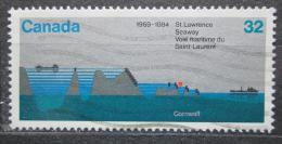 Poštovní známka Kanada 1984 Lawrenceovo vlnìní Mi# 909