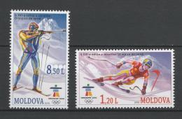 Poštovní známky Moldavsko 2010 ZOH Vancouver Mi# 689-90 - zvětšit obrázek