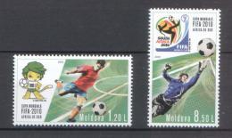Poštovní známky Moldavsko 2010 MS ve fotbale Mi# 706-07 Kat 6.50€ - zvětšit obrázek