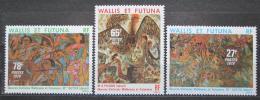 Poštovní známky Wallis a Futuna 1979 Umìní Mi# 358-60 Kat 9€