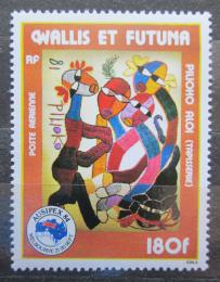 Poštovní známka Wallis a Futuna 1984 Gobelín, Aloi Pilioko Mi# 473 Kat 6€