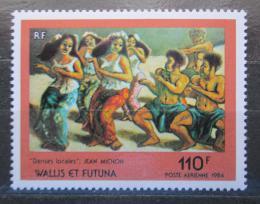 Poštovní známka Wallis a Futuna 1984 Umìní, Jean Michon Mi# 474