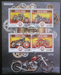 Poštovní známky Sierra Leone 2015 Motocykly Mi# 6249-53 Kat 11€