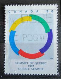 Poštovní známka Kanada 1987 Konference frankofonních zemí Mi# 1059