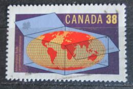 Poštovní známka Kanada 1989 Mezinárodní obchod Mi# 1148