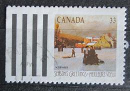 Poštovní známka Kanada 1989 Vánoce, umìní, William Brymner Mi# 1153 D
