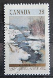 Poštovní známka Kanada 1989 Vánoce, umìní Mi# 1154 A