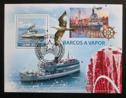 Poštovní známka Guinea-Bissau 2009 Parníky Mi# Block 738 Kat 12€
