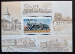 Poštovní známka Namíbie 1994 Lokomotivy Mi# Block 20