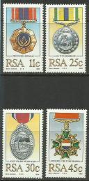 Poštovní známky JAR 1984 Vyznamenání Mi# 661-64