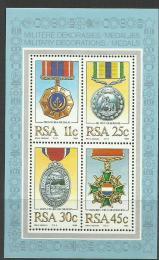 Poštovní známky JAR 1984 Vyznamenání Mi# Block 16