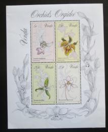 Poštovní známky Venda, JAR 1981 Orchideje Mi# Block 1