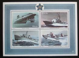 Poštovní známky JAR 1982 Lodì Mi# Block 13