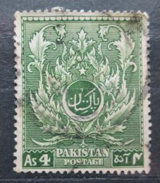 Poštovní známka Pákistán 1951 Nezávislost, 4. výroèí Mi# 58