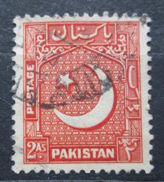Poštovní známka Pákistán 1949 Hvìzda a pùlmìsíc Mi# 49