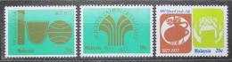 Poštovní známky Malajsie 1978 Tìžba kauèuku, 100. výroèí Mi# 183-85