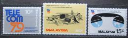 Poštovní známky Malajsie 1979 Výstava TELECOM Mi# 205-07
