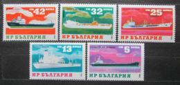 Poštovní známky Bulharsko 1984 Lodì Mi# 3253-57