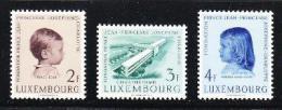 Poštovní známky Lucembursko 1957 Dìtská klinika Mi# 569-71 7€