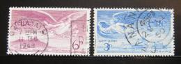 Poštovní známky Irsko 1948 Andìlé, letecké Mi# 103-04