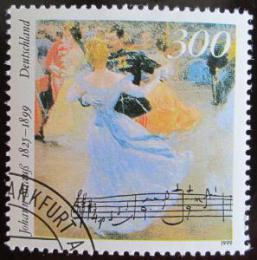 Poštovní známka Nìmecko 1999 Johann Strauss Mi# 2061 Kat 3€