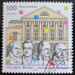 Poštovní známka Nìmecko 1999 Výroèí založení Výmaru Mi# 2028