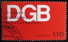 Poštovní známka Nìmecko 1999 Odborová organizace Mi# 2083