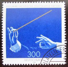 Poštovní známka Nìmecko 1998 Saský státní orchestr Mi# 2025