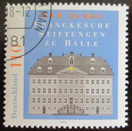 Poštovní známka Nìmecko 1998 Charitativní instituce v Halle Mi# 2011