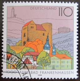 Poštovní známka Nìmecko 1998 Bad Frankenstein Mi# 1978