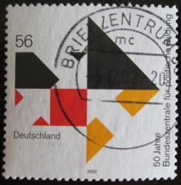 Poštovní známka Nìmecko 2002 Vzdìlávání obèanù Mi# 2287