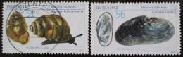Poštovní známky Nìmecko 2002 Mušle Mi# 2265-66